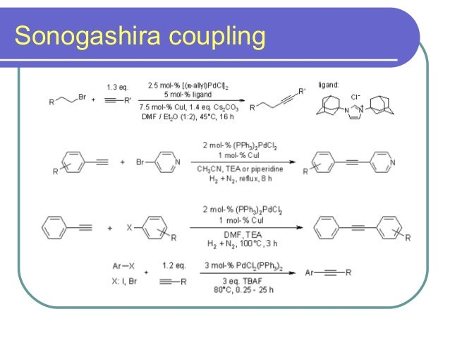 Coupling Reactions 2