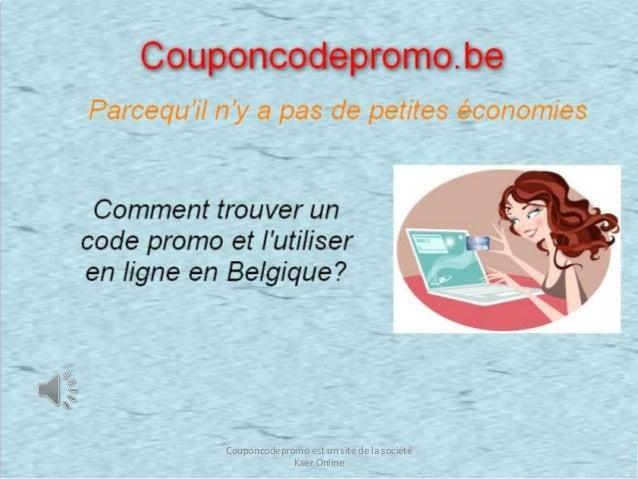 Couponcodepromo est un site de la société Kaer Online