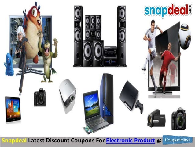 Discount coupons for snapdeal electronics
