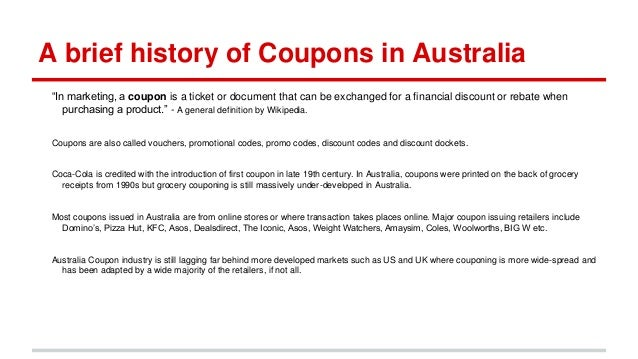 Aussie world discount coupons