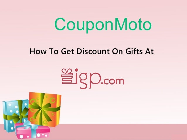 CouponMoto How To Get Discount On Gifts At
