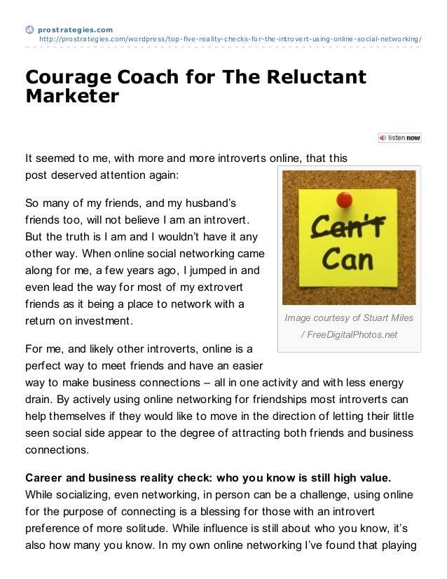 prost rat egies.com  http://prostrategies.com/wordpress/top-five-reality-checks-for-the-introvert-using-online-social-netw...