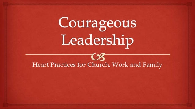 Heart Practices for Church, Work and Family