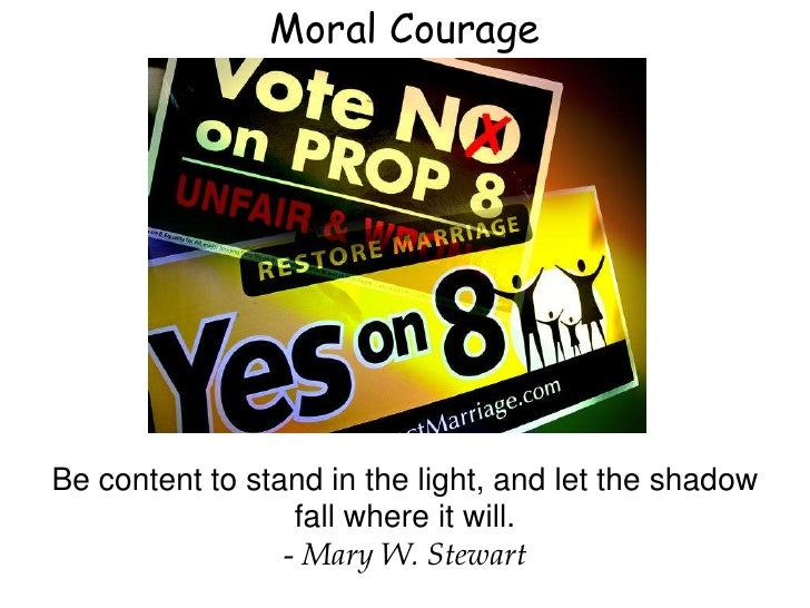 courage photo essay moral