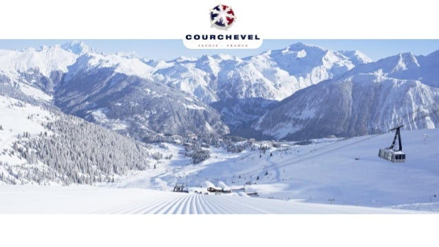 LOCATION  Courchevel is  located in the French Alps
