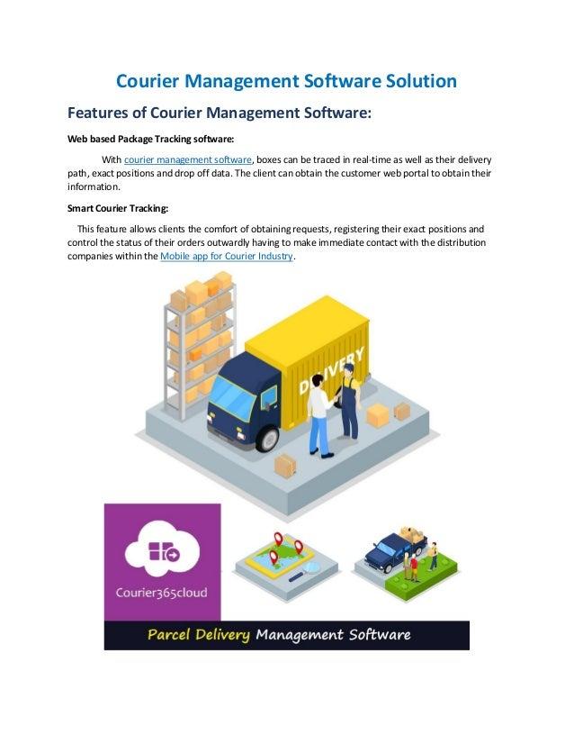 Web Based Courier Management System