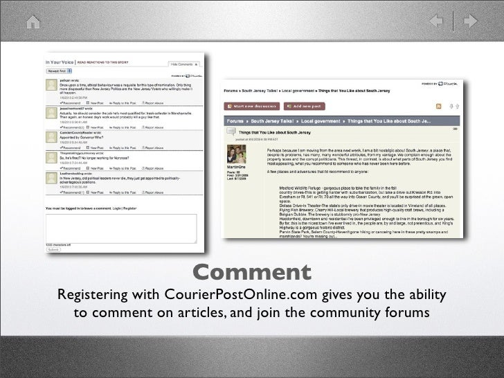 Comment Registering with CourierPostOnline.com gives you the ability   to comment on articles, and join the community foru...