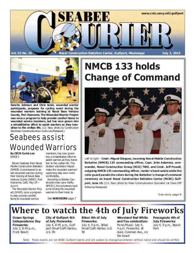 Seabee Ecourier July 2 2015