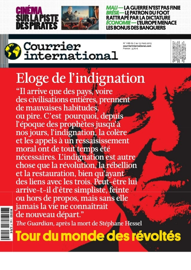 Courrier international n°1166 du 07 au 13 mars 2013