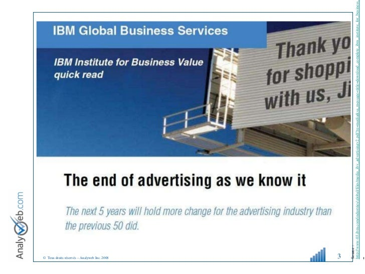 Les Médias Sociaux, une perspective Socio-démo-marketing Slide 3