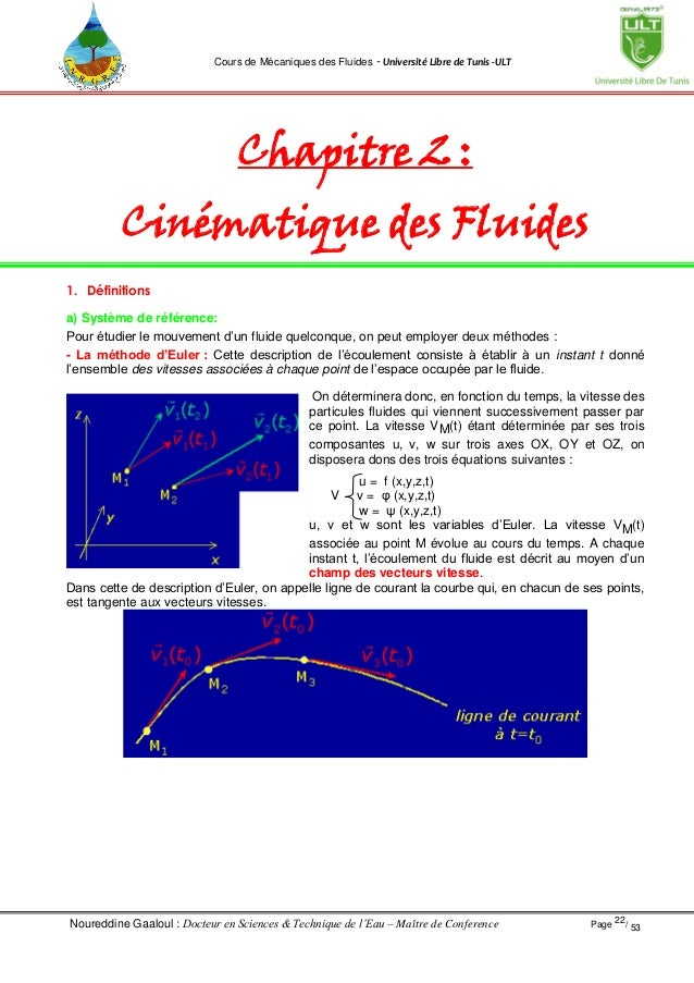 Resume cours mecanique fluide - antitesisadalah.x.fc2.com