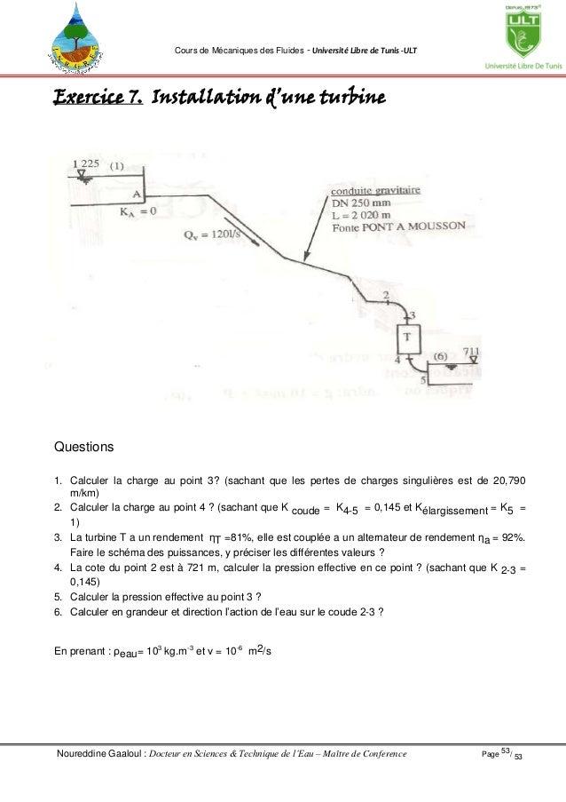 Cours Mecanique Des Fluides Gaaloul