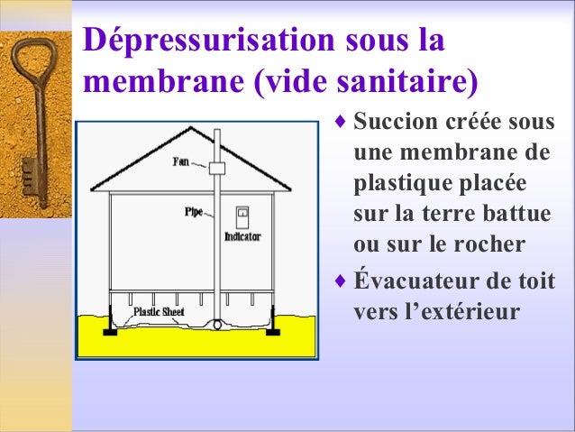 Cours radon sept 2013 - Isolation sous vide sanitaire ...