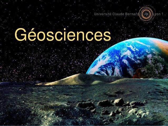 Géosciences