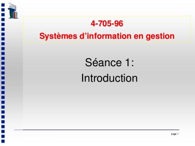 page 1Dernière mise à jour: 26 août 2004 Service de l'enseignement des technologies de l'information, © École des HEC de M...