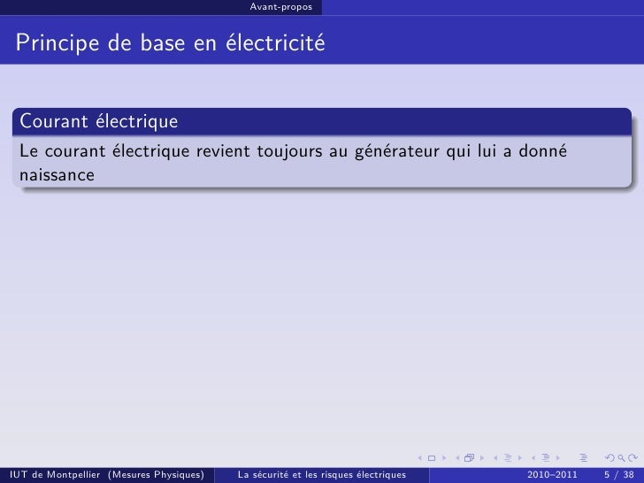 Electricit s curit lectrique cm1 for Bases de l electricite