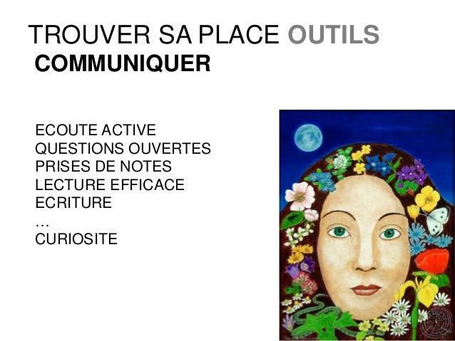 formation   trouver sa place