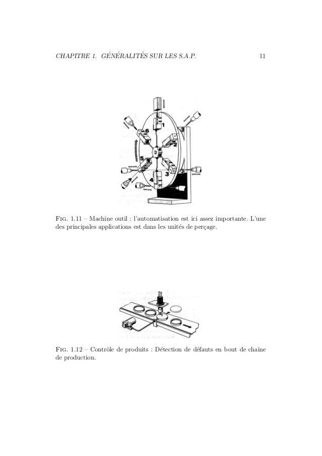 CHAPITRE 1. G´EN´ERALIT´ES SUR LES S.A.P. 11  Fig. 1.11 – Machine outil : l'automatisation est ici assez importante. L'une...