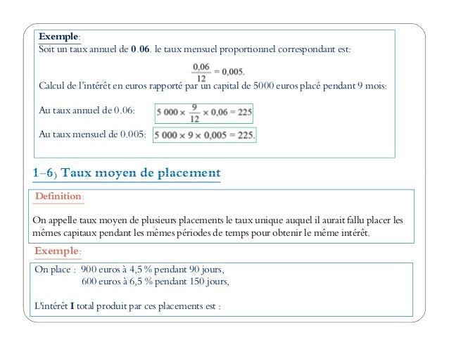 Cours Complet Math Financiere