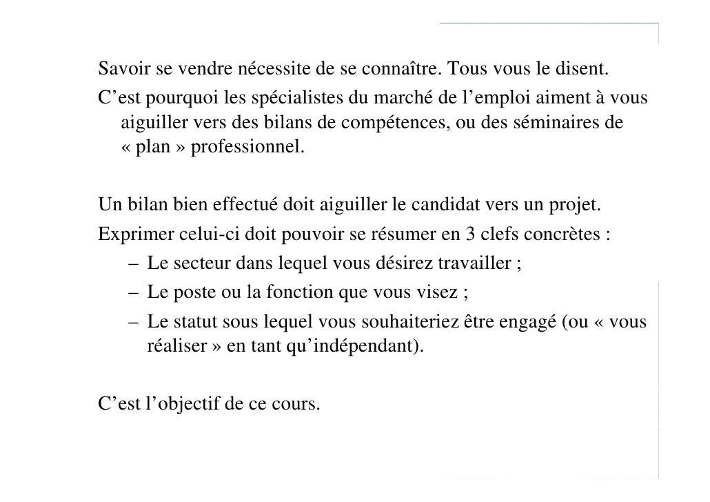 exemple lettre de motivation bilan de competences