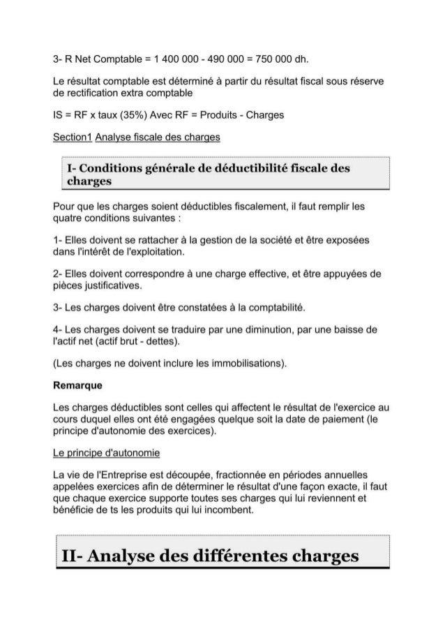 Cours de fiscalité + exercices corriges-S5
