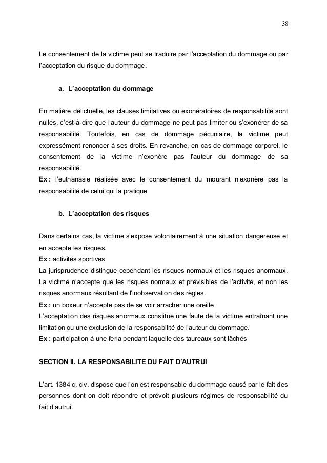 Dissertation vices consentement mariage