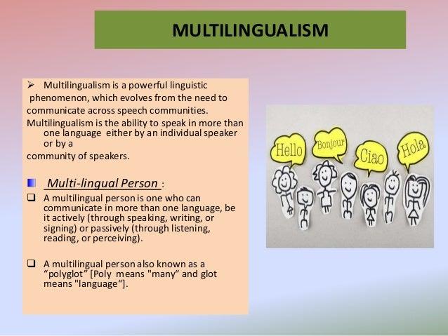 Multilingual Slide 3