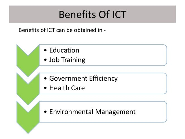 Benefits of computer technology in education and training education essay
