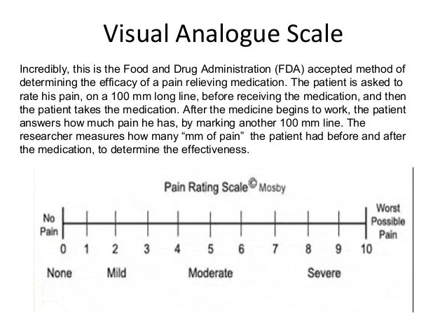 Course 17 measuring pain for Vas scale pain