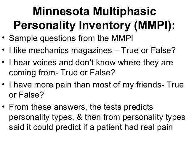 personality test questions and answers samples pdf
