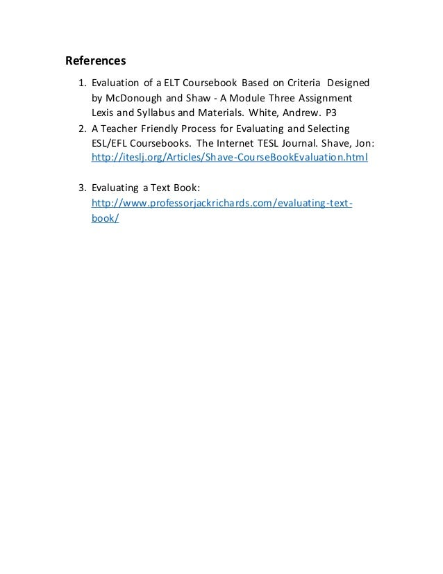 Fundamentals of Transportation/Evaluation