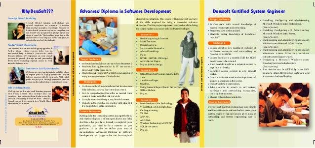 training course brochure template