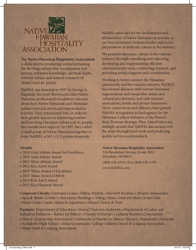 Nahha Course Catalog (2) Slide 2