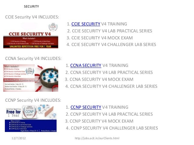 SECURITYCCIE Security V4 INCLUDES:                             1. CCIE SECURITY V4 TRAINING                             2....