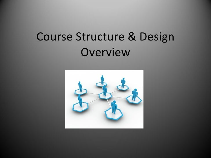 Course Structure & Design Overview