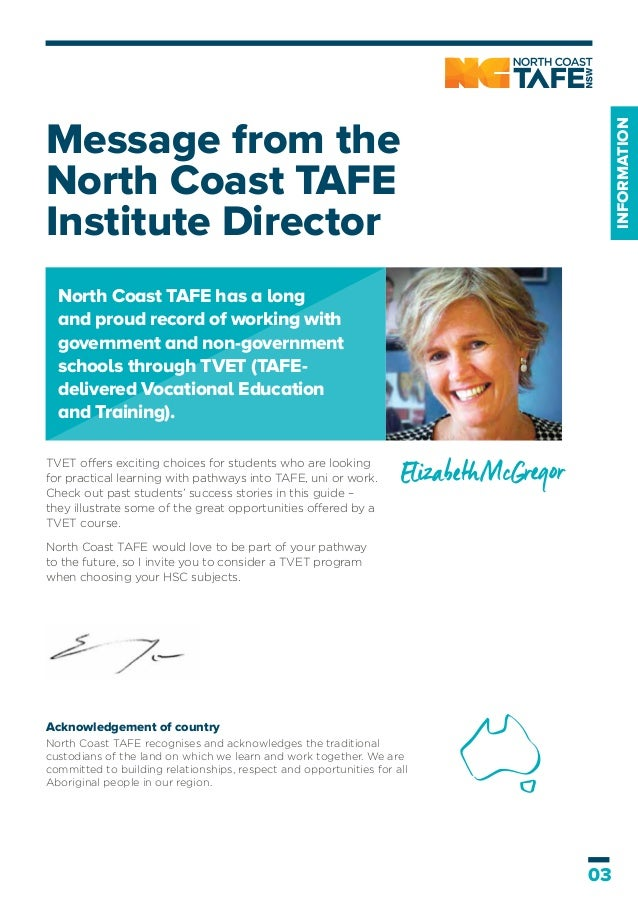 Course Guide For Students North Coast Tafe