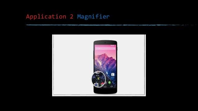 Application 2 Magnifier