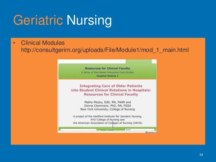 Geriatric Nursing<br />25<br />Course Evaluations<br />