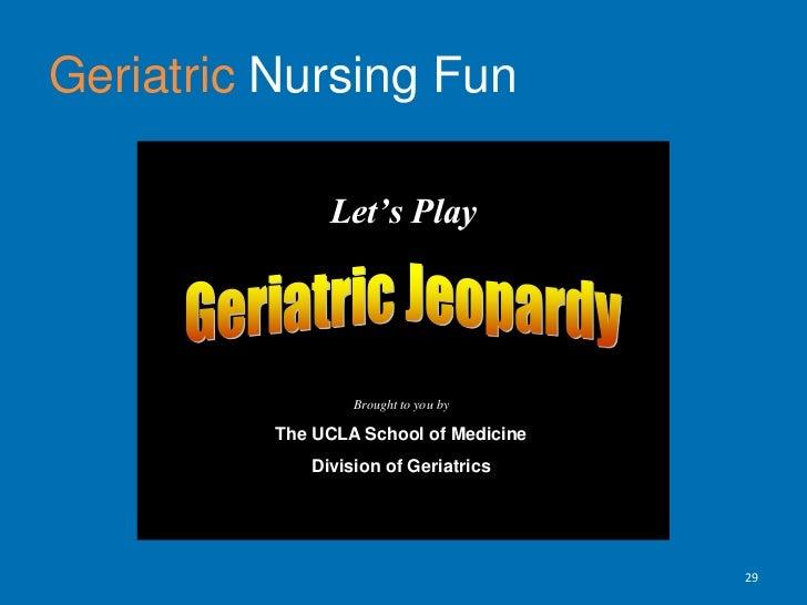 References<br />Hartford Geriatric Nursing Initiative (HGNI) Design Identity Program  (n.d.). Overview and Guidelines.  R...