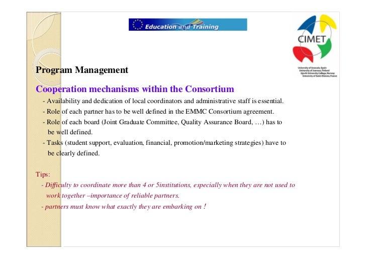 Emmc Course Management Promotion Visibility Sustainability And Pe