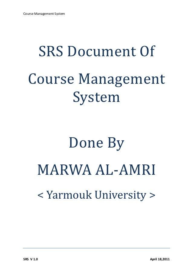 srs for fee management system