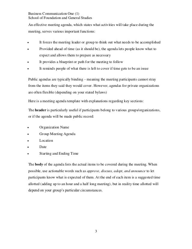 Business communication course notes topic 3 210613 024503 business communication malvernweather Images