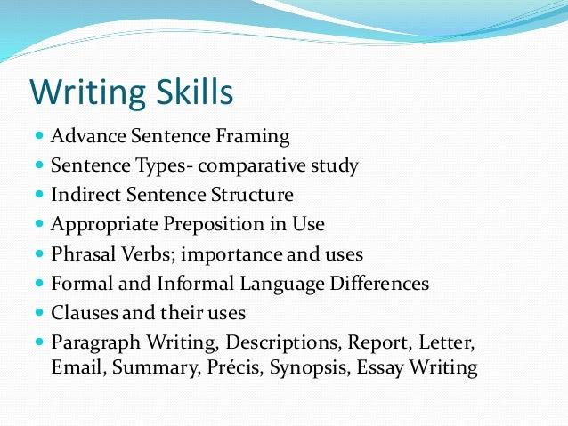 course details english language advance level  synopsis essay writing 6