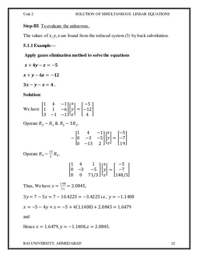 Mcaunit 2computer Oriented Numerical Statistical Methods