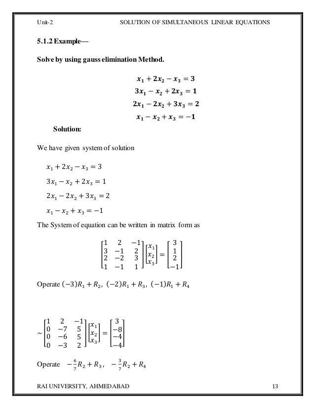 computer oriented numerical methods pdf