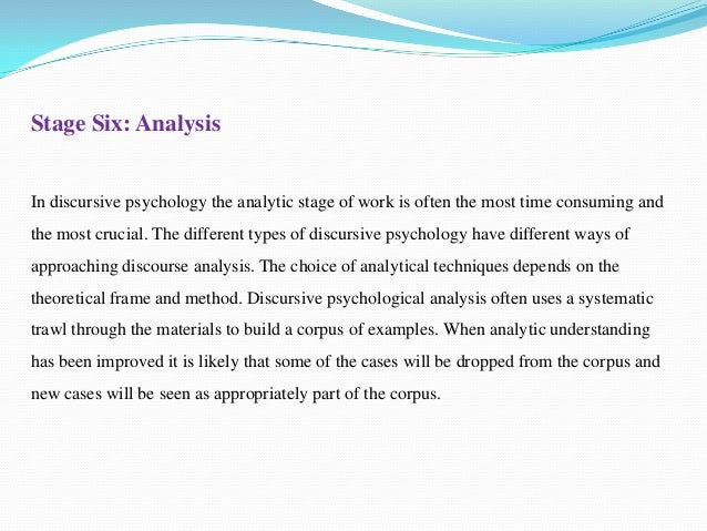 analytical research essay