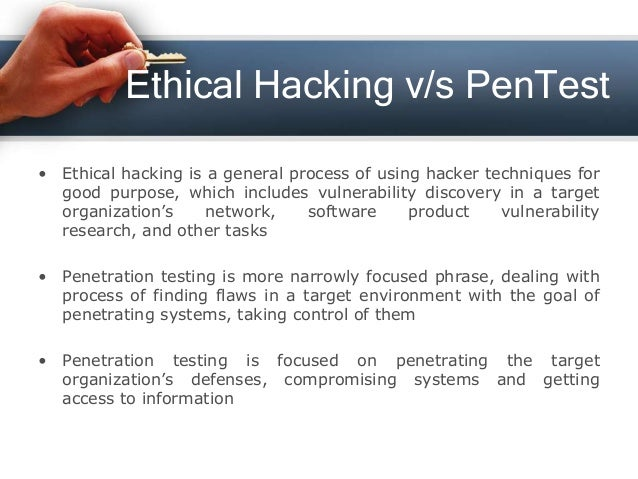 Ethical hacking and penetration testing — photo 12