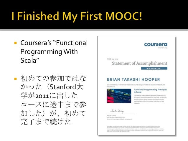 Coursera experience Slide 2