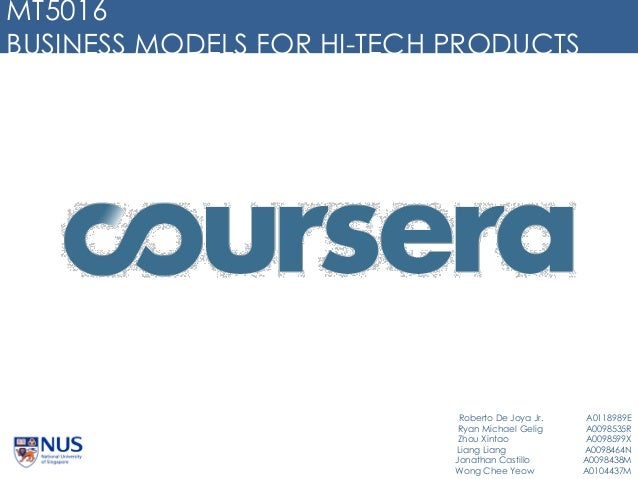 BIz Model for Coursera