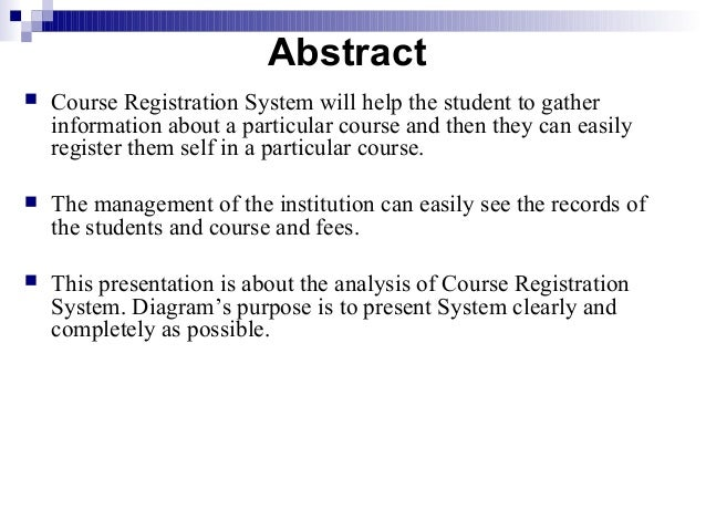 school registration system thesis When a program requires a dissertation or thesis, registration in dissertation or thesis coursework is required for at least two semesters and provides the necessary continuous enrollment until the thesis or dissertation has been submitted to the graduate school.